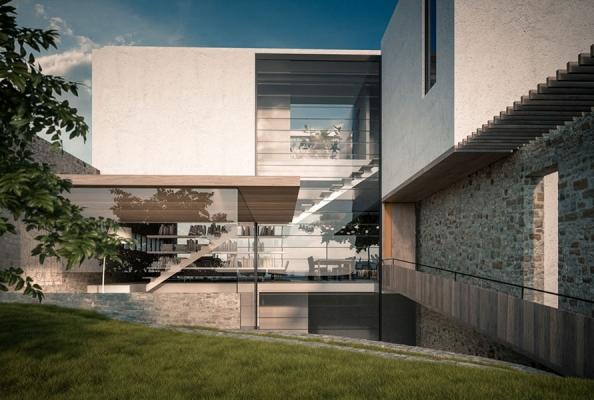Rural Urban House Jacobs Yaniv Architects